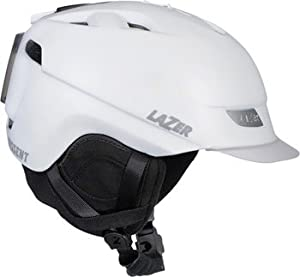 Lazer Dissent CPSC Winter Cycling Helmet: White; MD