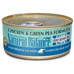 Natural Balance LID Canned Cat Food 24 Pack Chicke