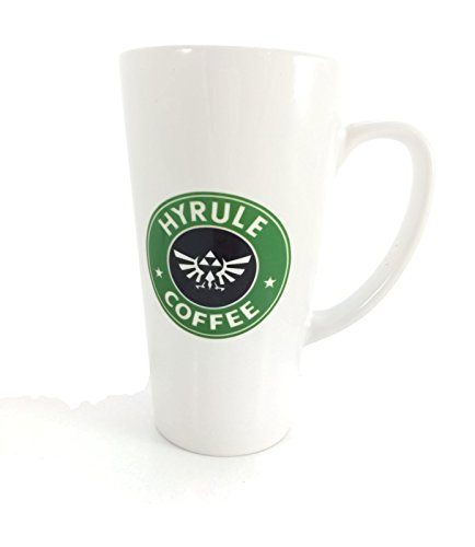 Legend of Zelda Hyrule Coffee Large 17 Ounce Latte Mug