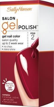 Sally Hansen Salon Pro Gel, Red Zin, 4 Ml