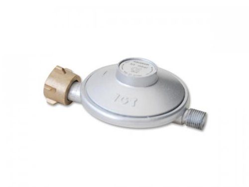 FK Automotive ABGRDR Pressure Reducer Valve for Barbecue Gas Connection Silver