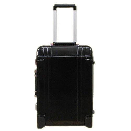 (ゼロハリバートン)ZERO HALLIBURTON スーツケース ZR-Geo 20インチ 2輪キャリーケース ブラック ZR-G TR 9400301 [並行輸入品]