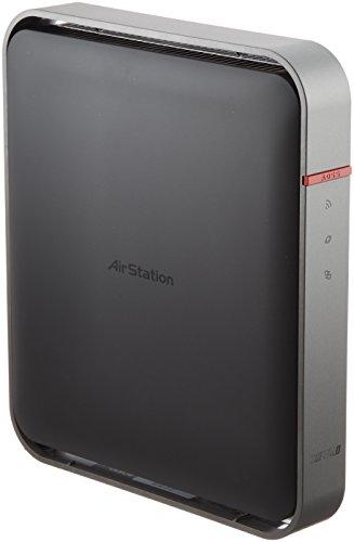 BUFFALO 【iPhone6対応】 11ac/n/a/b/g 無線LAN親機(Wi-Fiルーター) AOSS2 エアステーション ハイパワー Giga 1300+450Mbps WZR-1750DHP (利用推奨環境6人・4LDK・3階建て)