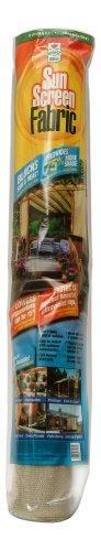 Easy Gardener 72012 Sun Screen Fabric - Saddle Tan - 6-Foot x 12-Foot - 75% Sun Block