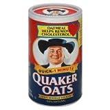 Quaker Oats Quick 1 Minute 18oz 510g