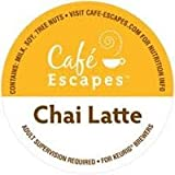 Cafe Escapes Chai Latte 48 K-Cups for Keurig Brewers