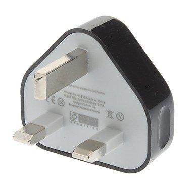 Zaki Fashion British System Plug With Usb Connector (Eu,2 Colors) , Blue