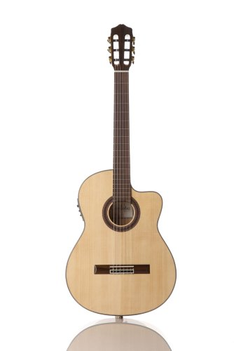 Cordoba C7-CE Acoustic Electric Classical Guitar, SP/IN