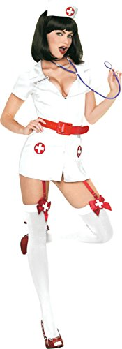 Leg Avenue Womens Naughty Nurse Hospital Outfit Fancy Dress Sexy Costume