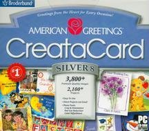 American Greetings Creatacard Silver 8 (Jewel Case)