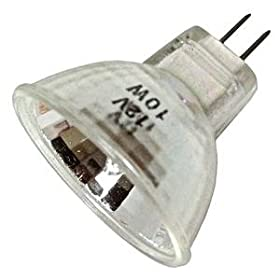 Higuchi JCR 8297 - 10 Watt MR11 Light Bulb, 12 Volt, 40 Degree Flood