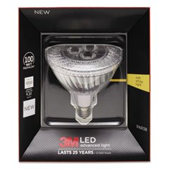 * Led Advanced Light Bulbs Par-38, 100 Watts, Warm