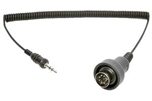 Sena SC-A0120 Jack Stéréo 3,5 mm pour Câble DIN à 7 Broches pour Harley-Davidson Ultra Classic Post 1998