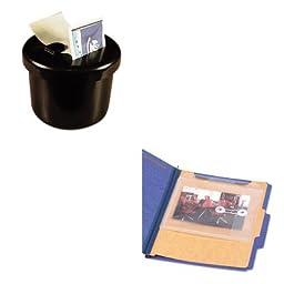 KITLEE40100SMD68195 - Value Kit - Smead Side/Top Loading Envelope (SMD68195) and Lee Ultimate Stamp Dispenser (LEE40100)