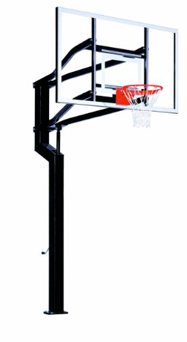 Goalsetter MVP In-Ground Height Adjustable Basketball System (6 - Inch)