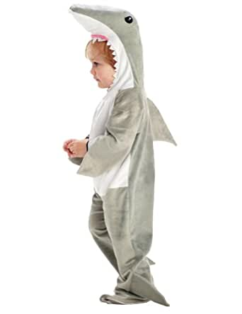 .com: Shark Toddler Costume 1824 Months  Toddler Halloween Costume