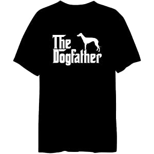 The Dogfather Greyhound Mens T-shirt
