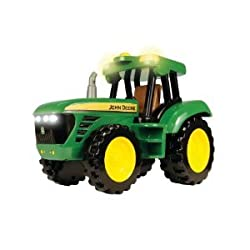 "John Deere 12"" Lights And Sounds Tractor"