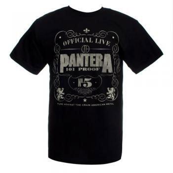 Pantera - - Uomo 101 Proof T-Shirt in nero