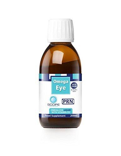 PRN Omega Eye Omega 3 Liquid with Vitamin D3 (200ml) by Omega Eye (Omega Vitamin D3 compare prices)