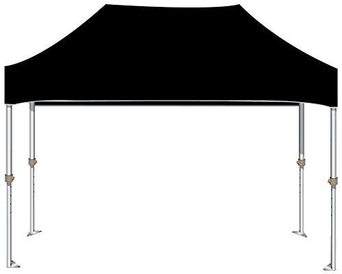 Kd Kanopy Xtf150K Xtf Aluminum Frame Indoor/Outdoor Portable Canopy, 10 By 15-Feet, Black