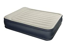 Deluxe Pillow Rest Raised Queen Inflatable Airbed