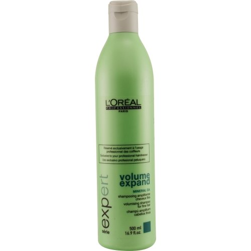 L'Oreal Serie Expert Volume Expand Shampoo for Fine Hair, 16.9 Ounce