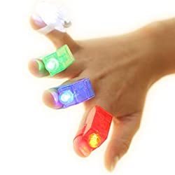[Best price] Novelty & Gag Toys - Strap On LED Fingers - Set of 4 - toys-games