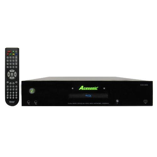 Acesonic KOD-3000 Dual Hard Drive Network Blu-ray Disc Jukeb