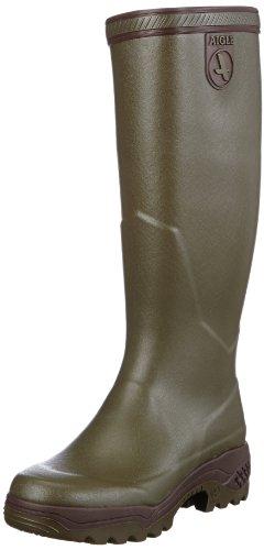 Aigle Parcours 2 84207, Stivali di gomma unisex adulto, Verde (Grün (kaki)), 45