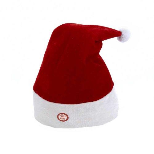 Kurt adler battery operated animated santa hat