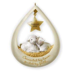 Amazon.com - Godchild 2010 Hallmark Ornament - Decorative ...