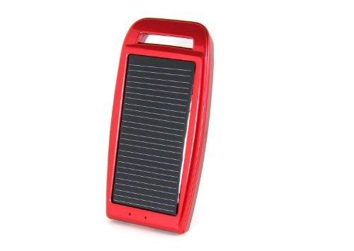 Concept Green Energy Solution Inc. CGS1250-R 0.5-Watt 1250mAh Battery Solar Panel Solar Charger, Red