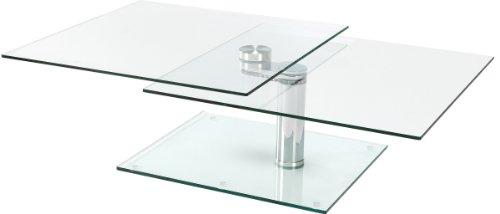 Table basse Plateau en verre pas cher |