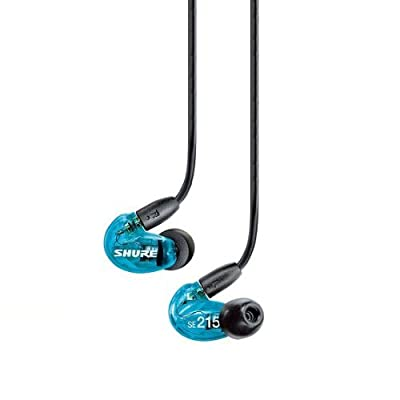 (Outlet item)SHURE SE215LTD Limited Edition Sound Isolating Earphones with Enhanced Bass, Blue SE215SPE-A Japan import