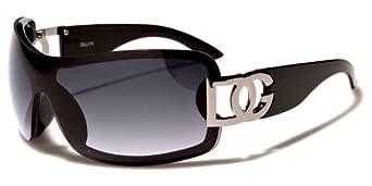 DG Eyewear Sunglasses - New Season 2014 - Premium Rhinestone Model - Full UV400 Protection - Ladies Fashion Sunglasses - Smoke Mirror Flash Lense (Limited Edition) D.G DG ¨ Eyewear