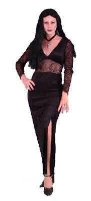 Goddess of Darkness Gothic Witch Costume