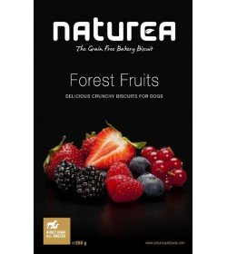 Naturea Dog Treat Natural Grain Free Biscuits Forest Fruit Flavour 230g from Naturea