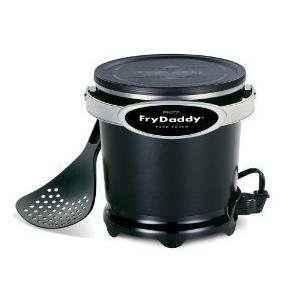 Presto Fry Daddy Deep Fryer Makes Four Big Servings With Just Four Cups Of Oil Nonstick Surface
