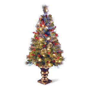 4 Fiber Optic Spruce Christmas Tree  50 Clear