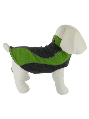 Explorer Double Fleece Reflective Small Dog Coat