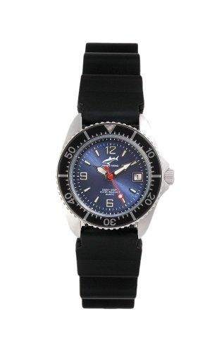 Chris Benz One Lady CBL-B-SW-KB Reloj elegante para mujeres Reloj de Buceo