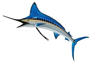 "Giant Taxidermy Quality Blue Marlin Fish 58"" Wall Mount"