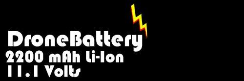 Futaba 11.1 2200mah Lipo Radio Battery for Futaba 6EX Transmitter