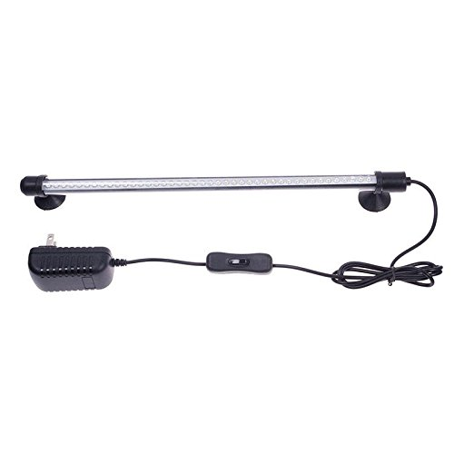 RONGXINUK 42 LED Aquarium Fish Tank Bar Stick Strip Waterproof Submersible Light Lamp #01