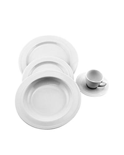 BergHOFF Elan 16-Piece Dinnerware Set, White