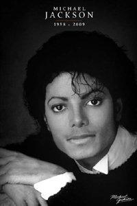 マイケルジャクソン【ブラック&ホワイト】 ポスター PP-31936