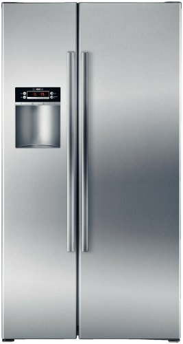 Bosch B22CS30SNS300 22.1 Cu. Ft. Stainless Steel Counter Depth Side-By-Side Refrigerator - Energy Star