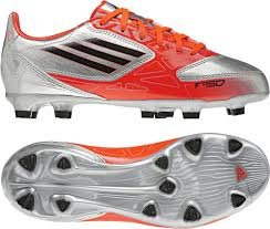 Buy Adidas Kids F30 TRX FG J V21355 METSILVER,BLACK1,INFRARED by adidas
