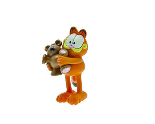 Plastoy - 66006 -Figurina Garfield con orsetto peluche